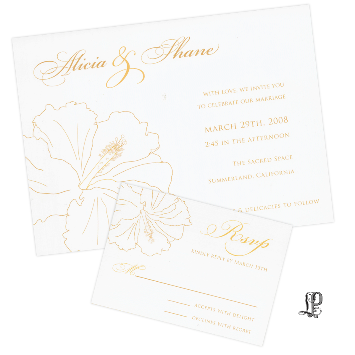 invitations wedding — Letter Perfect Stationery