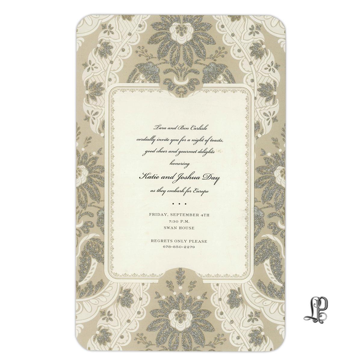 Invitations wedding letter perfect stationery fancy elegant stopboris Choice Image