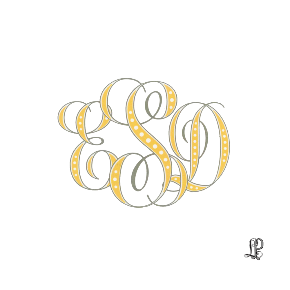 monogram esd custom best custom wedding invitation letter