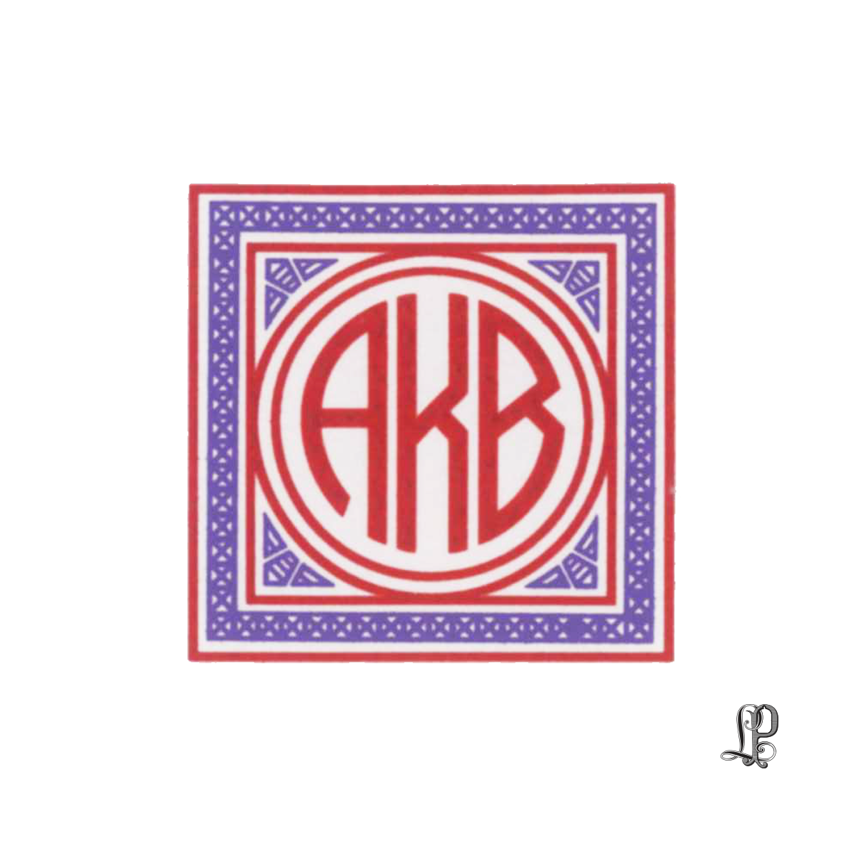 monograms — Letter Perfect Stationery