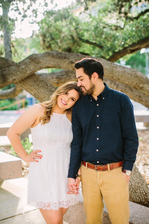 San Antonio Engagement Photos - UTSA