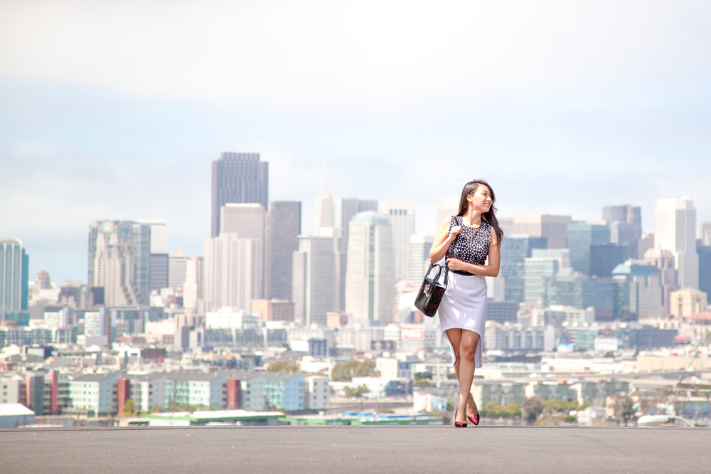 San Francisco's skyline from Portrero Hill photo spot