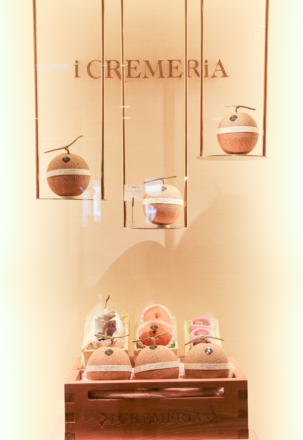 i Cremeria's beautiful store display! Photo by DY