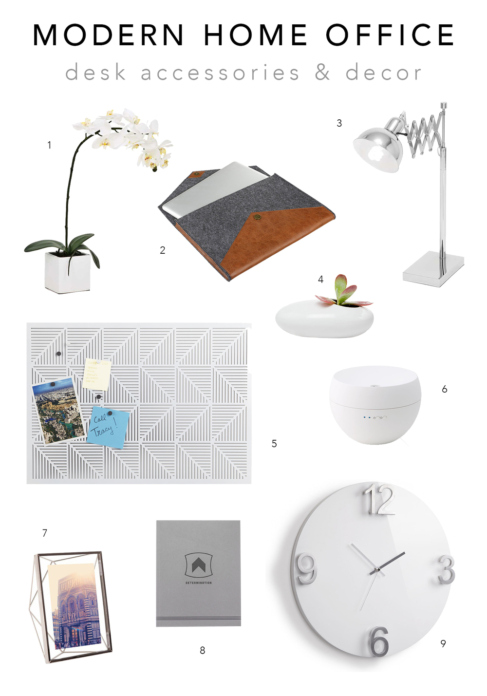 Dot & Bo Modern Home Office - Desk Accessories & Decor