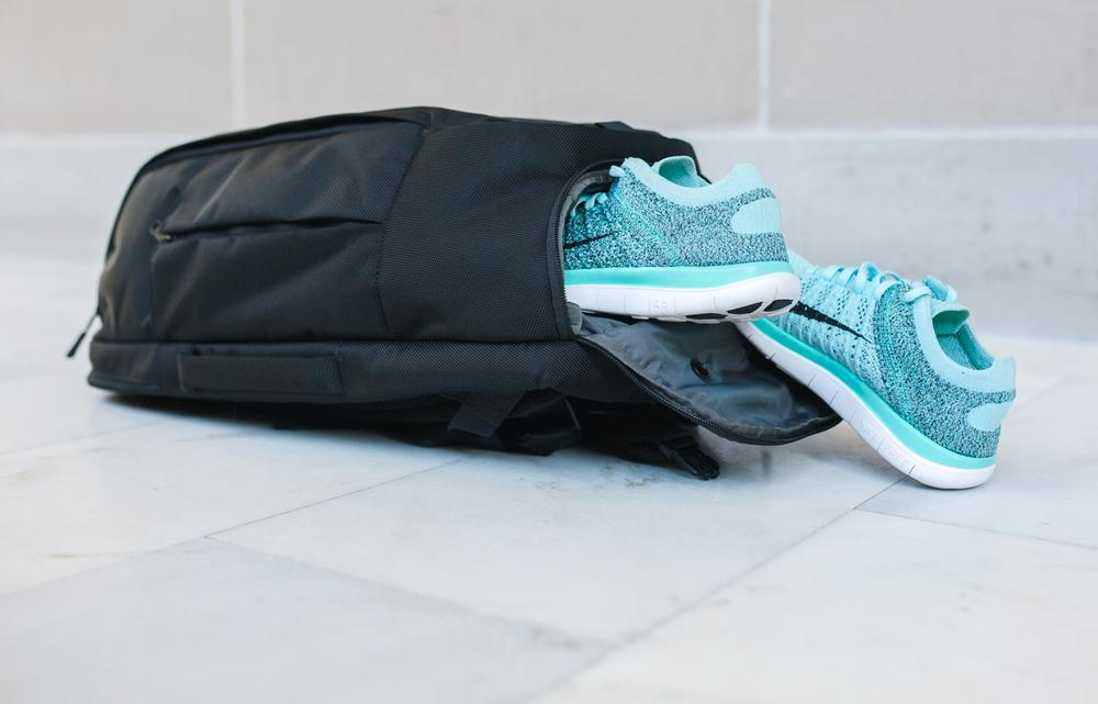 Mint Nike Free Runs   via The Chic Diary