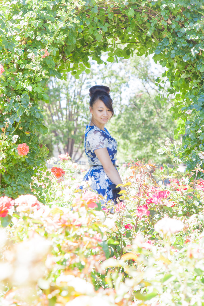 04.28.16: Spring in Bloom | Navy Floral Dress & Schutz Sandals