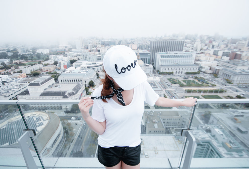 Lover White Cap | The Chic Diary