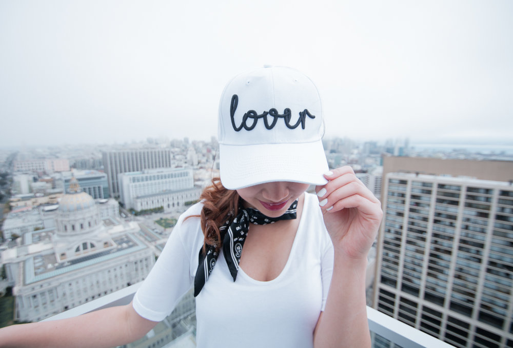 Lover Baseball Cap | The Chic Diary