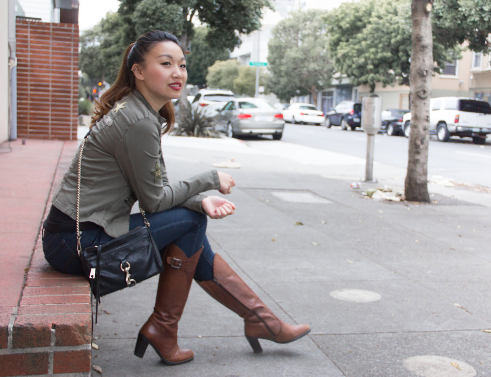 Military Inspired Outfit | The Chic Diary