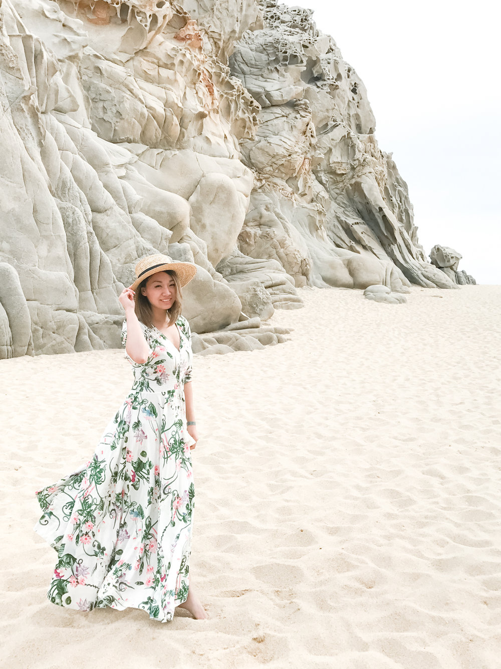 ShowPo Floral Maxi Dress | The Chic Diary