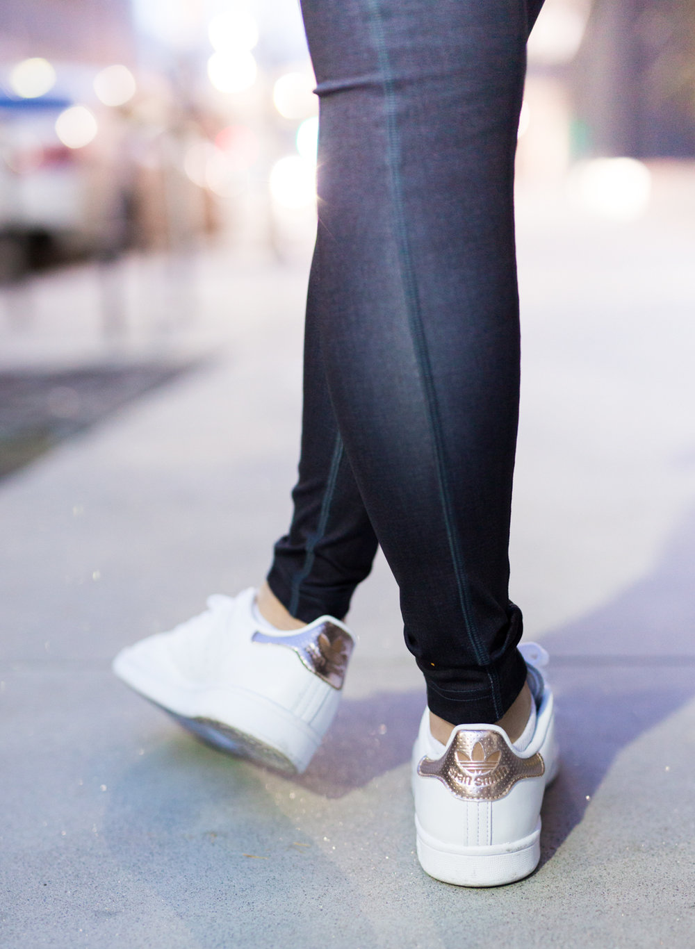 Adidas Stan Smith Copper Metallic Sneakers | The Chic Diary