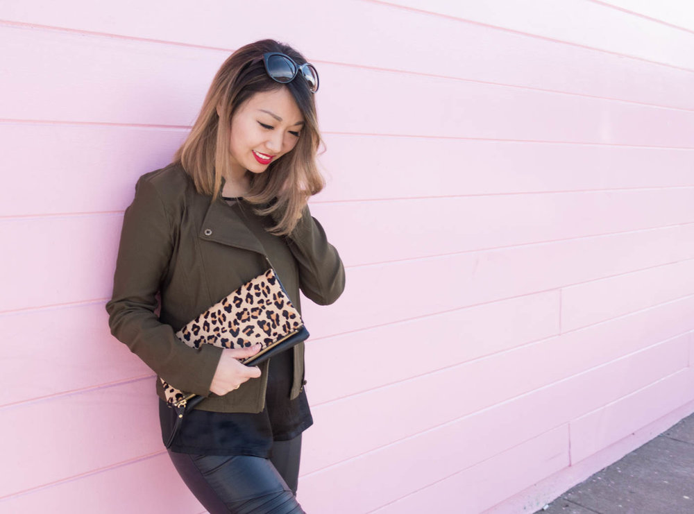 Moto & Leopard Print | The Chic Diary