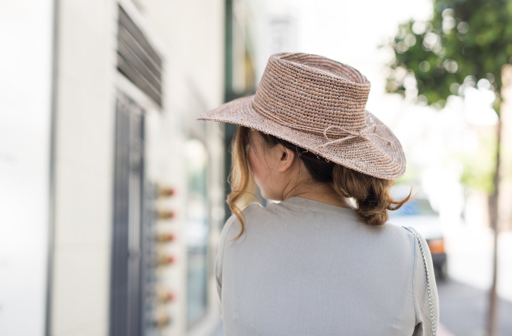 San Diego Hat Company Raffia Hat | The Chic Diary