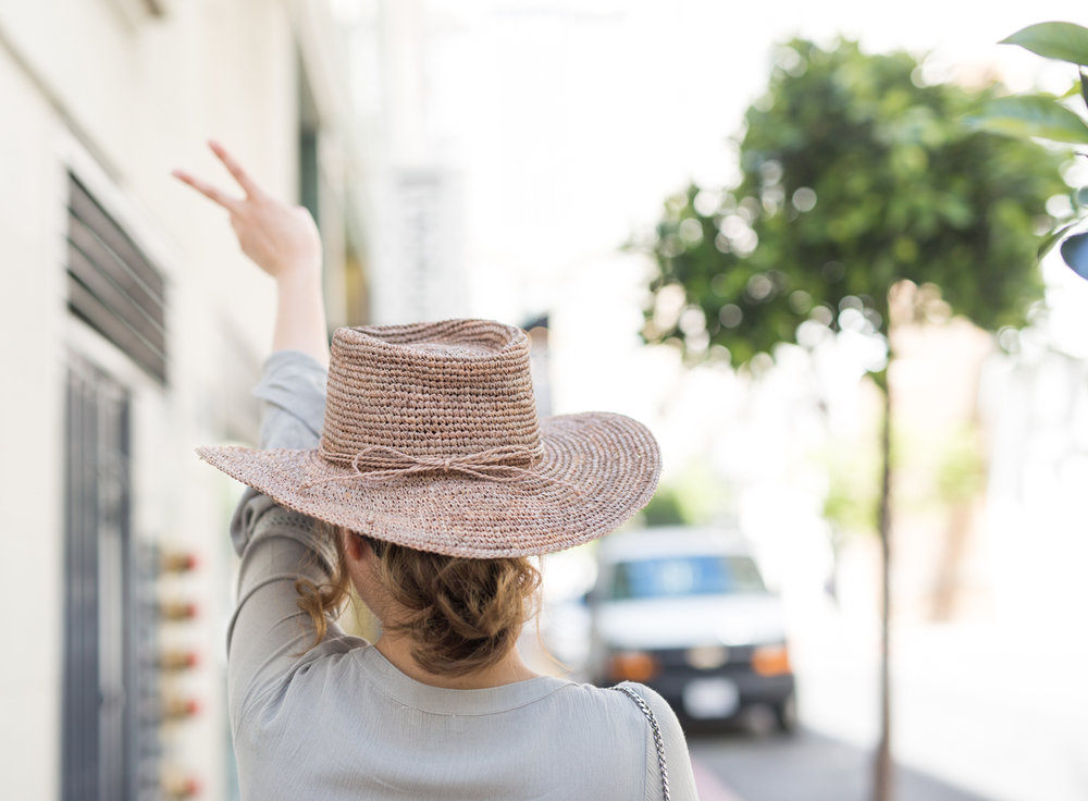 San Diego Hat Co Oval Crown Raffia Hat | The Chic Diary