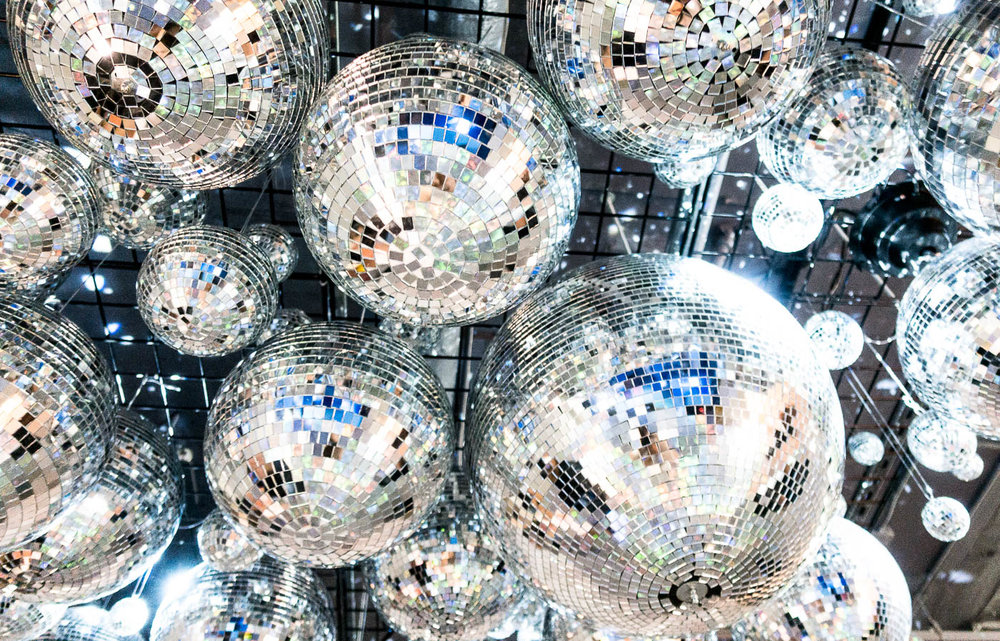 Color Factory SF - Disco Balls Room | The Chic Diary