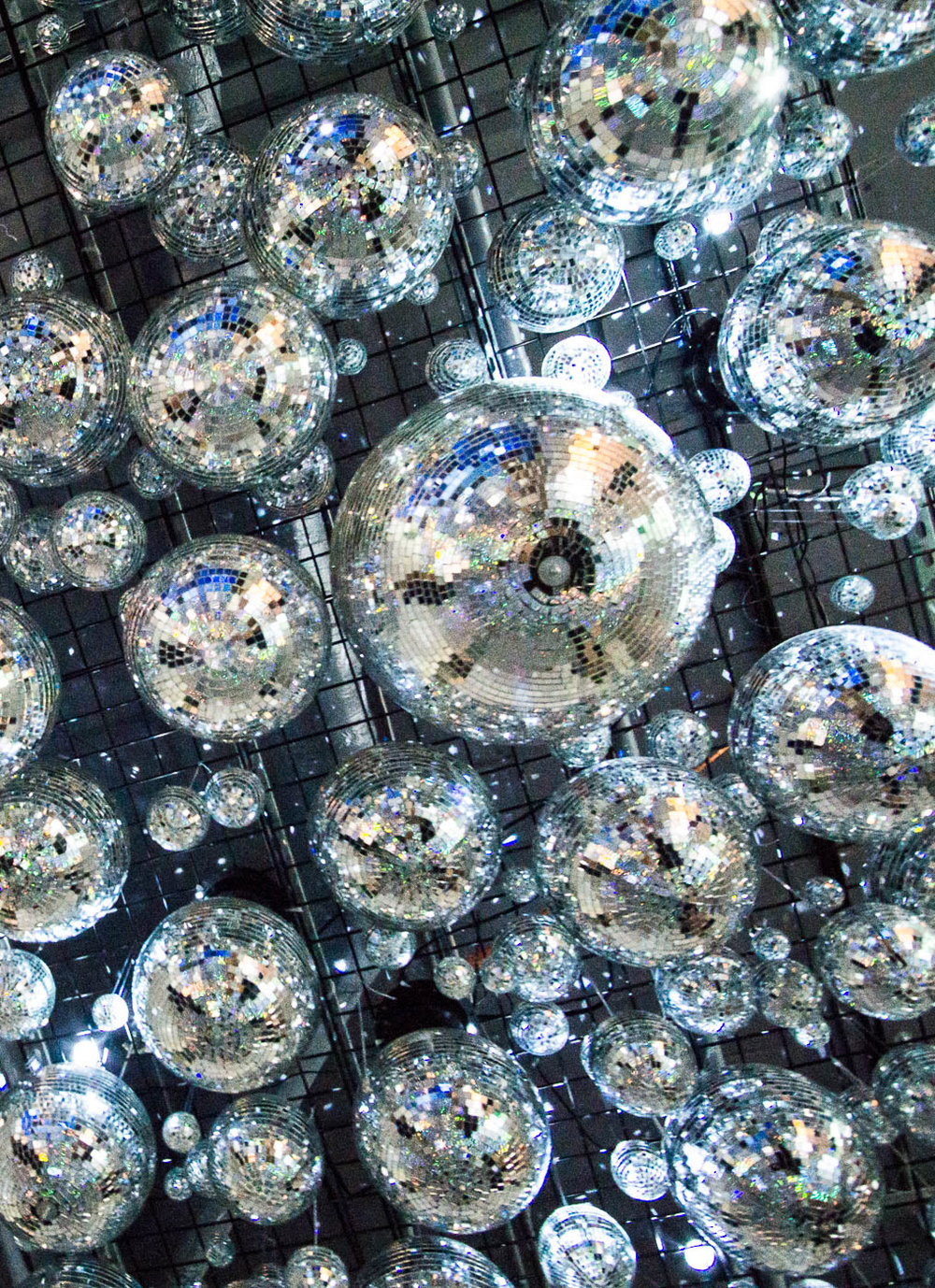 Color Factory SF - Disco Balls | The Chic Diary