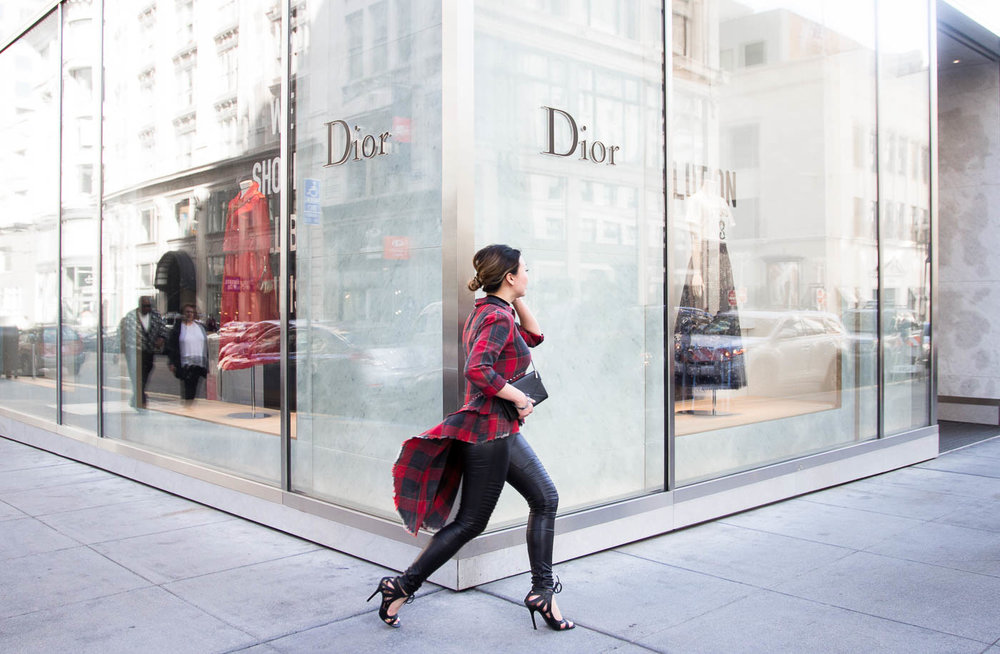 Dior on the run | The Chic Diary