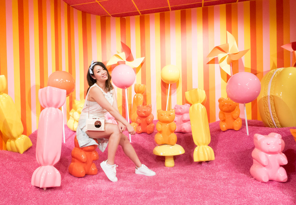 Museum of Ice Cream SF Gummy Bears Room | The Chic Diary
