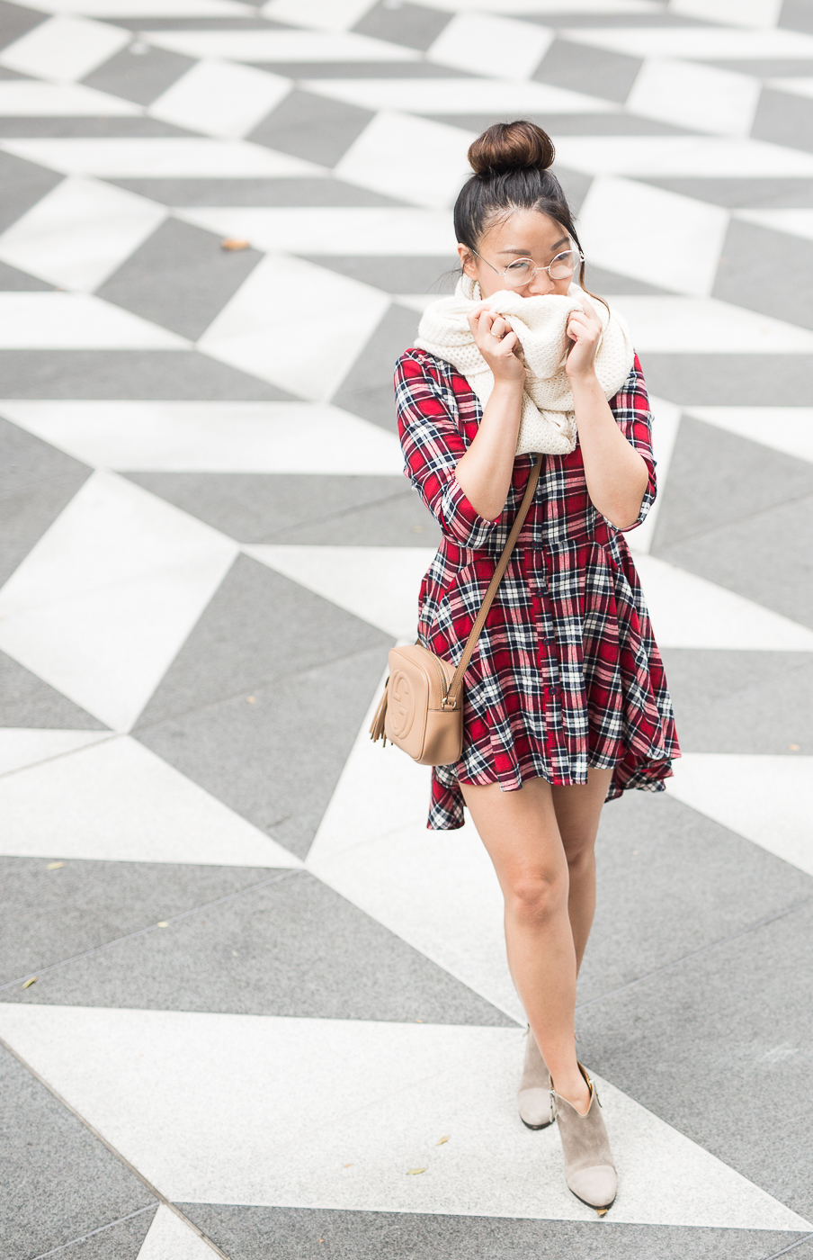 Cuyana baby alpaca infinity scarf | The Chic Diary