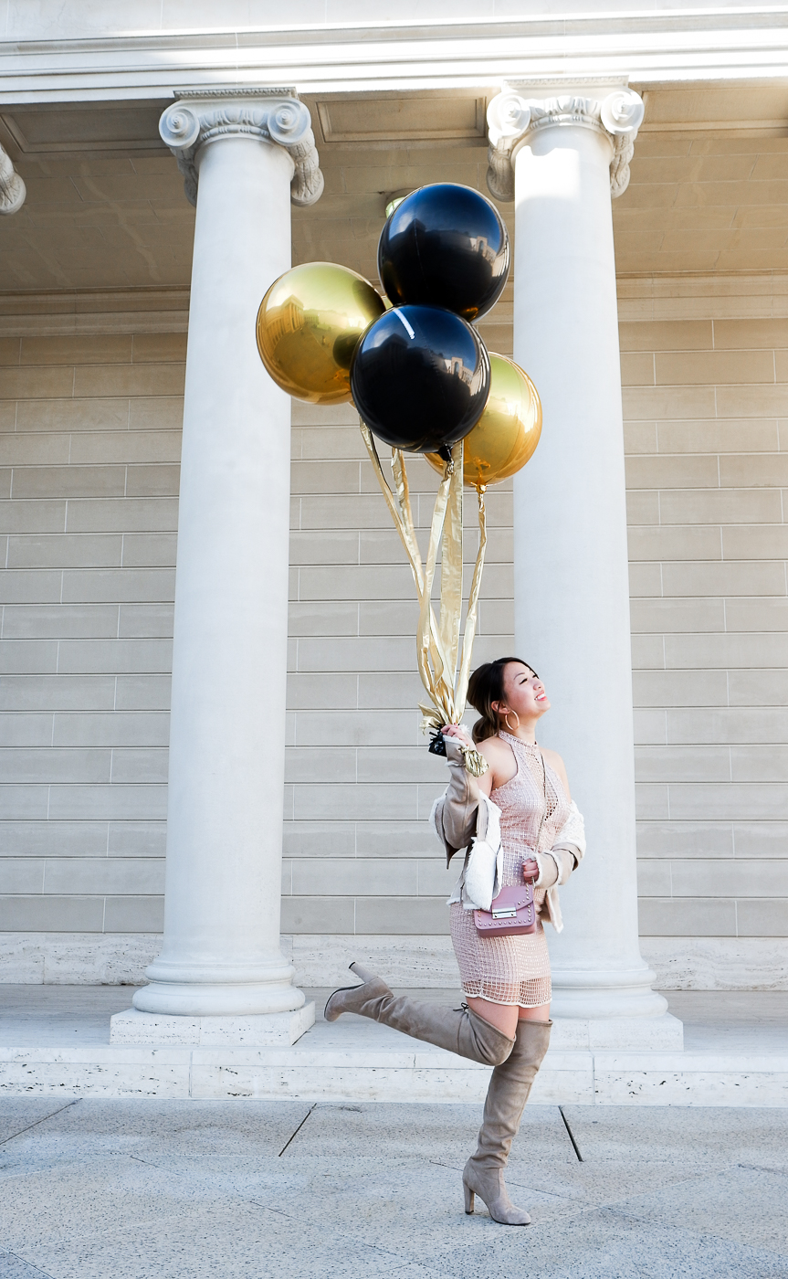 Photoshoot with balloons | The Chic Diary