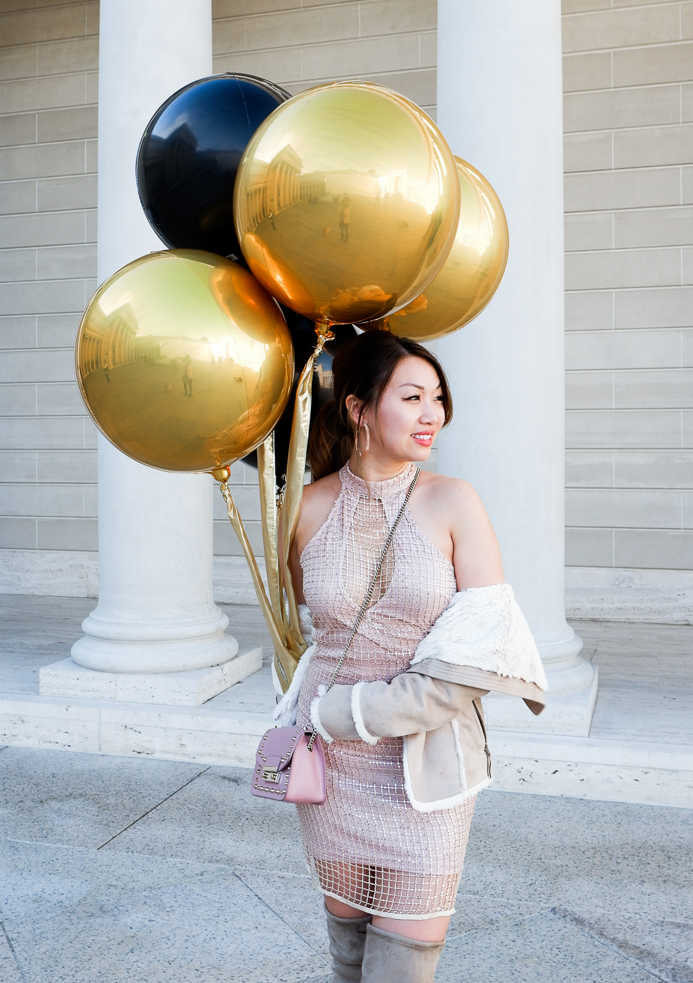 Sparky's Balloons for NYE | The Chic Diary