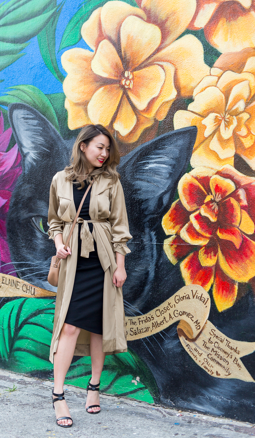 Aritzia Wilfred Mercier Duster Jacket | The Chic Diary