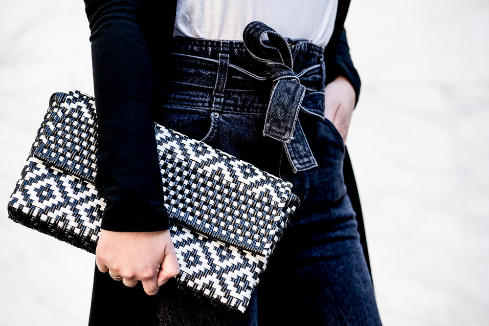 Boutique Mexico - Woven Clutch | The Chic Diary