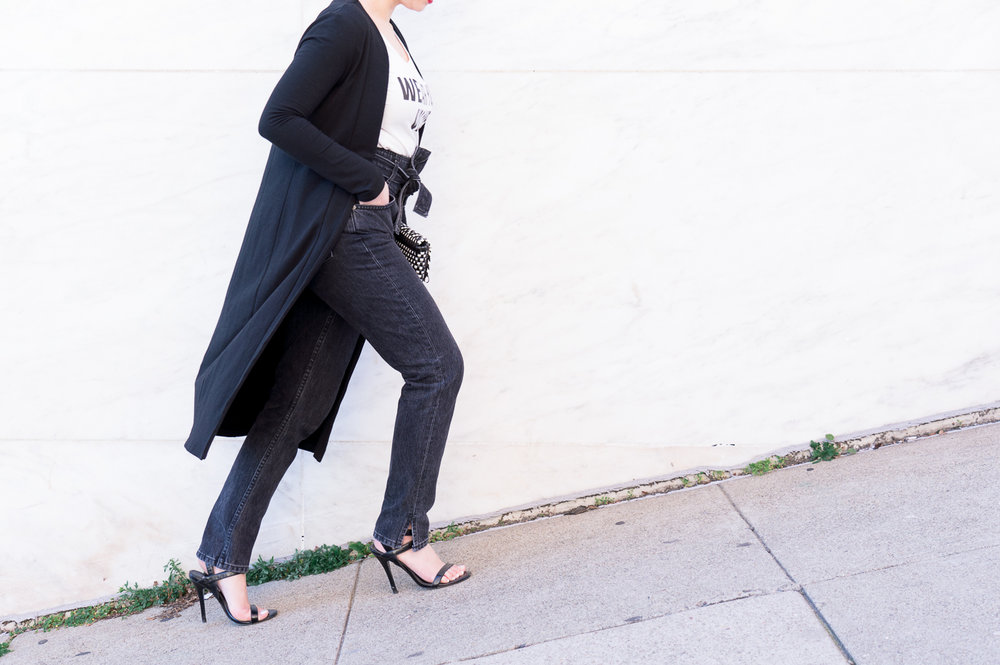 Good Apparel - Black Knit Jacket | The Chic Diary