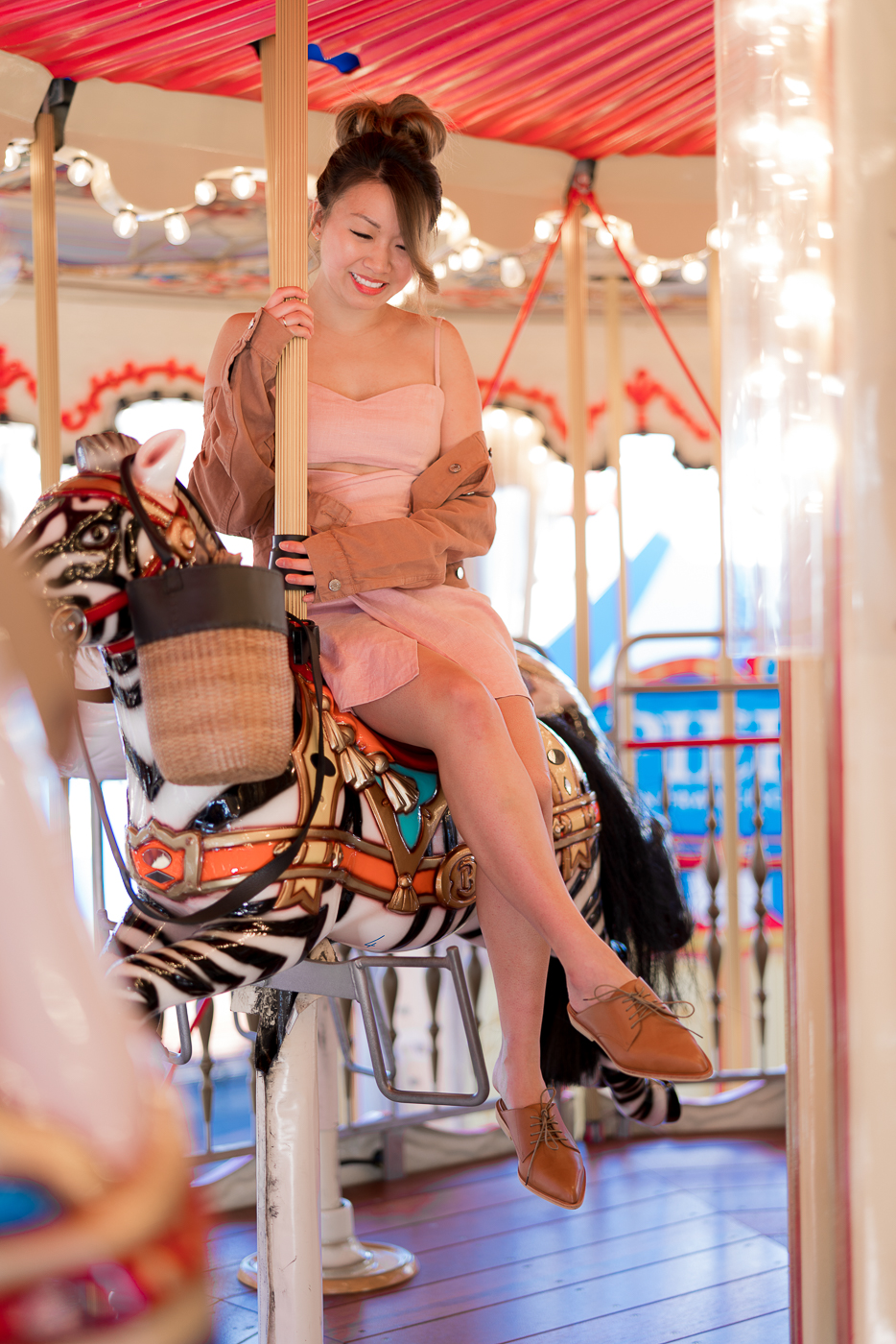 Pier 39 Carousel Shoot | The Chic Diary