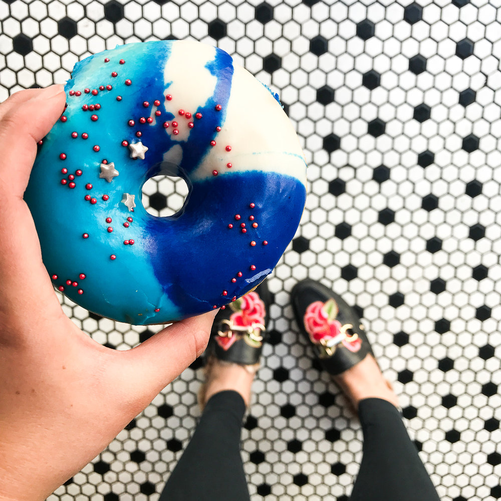 Birdies Galaxy Donut - LA Food Guide | The Chic Diary