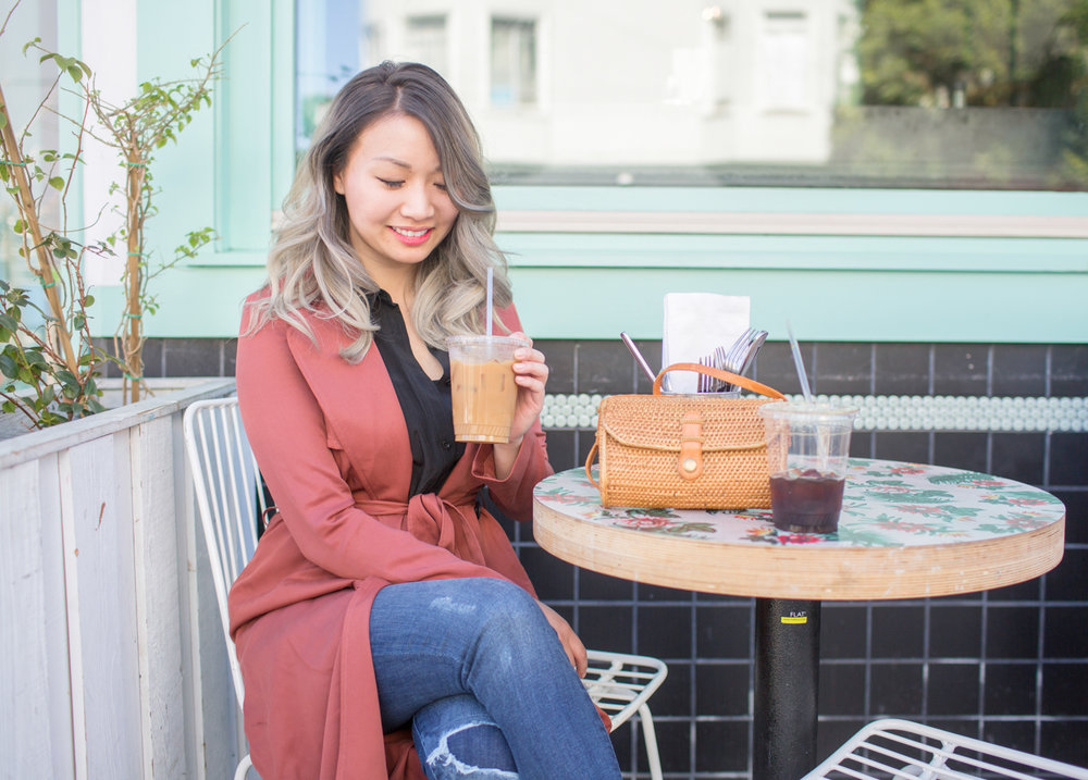 VETTA duster jacket | The Chic Diary