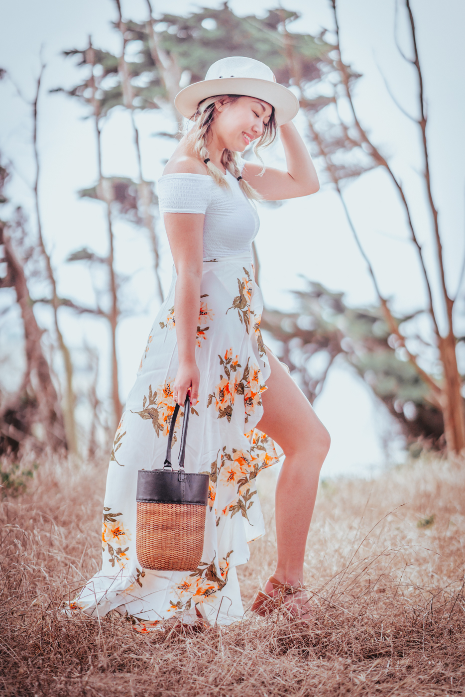 Kayu Lucia Tote & Flynn Skye Maxi Skirt | The Chic Diary