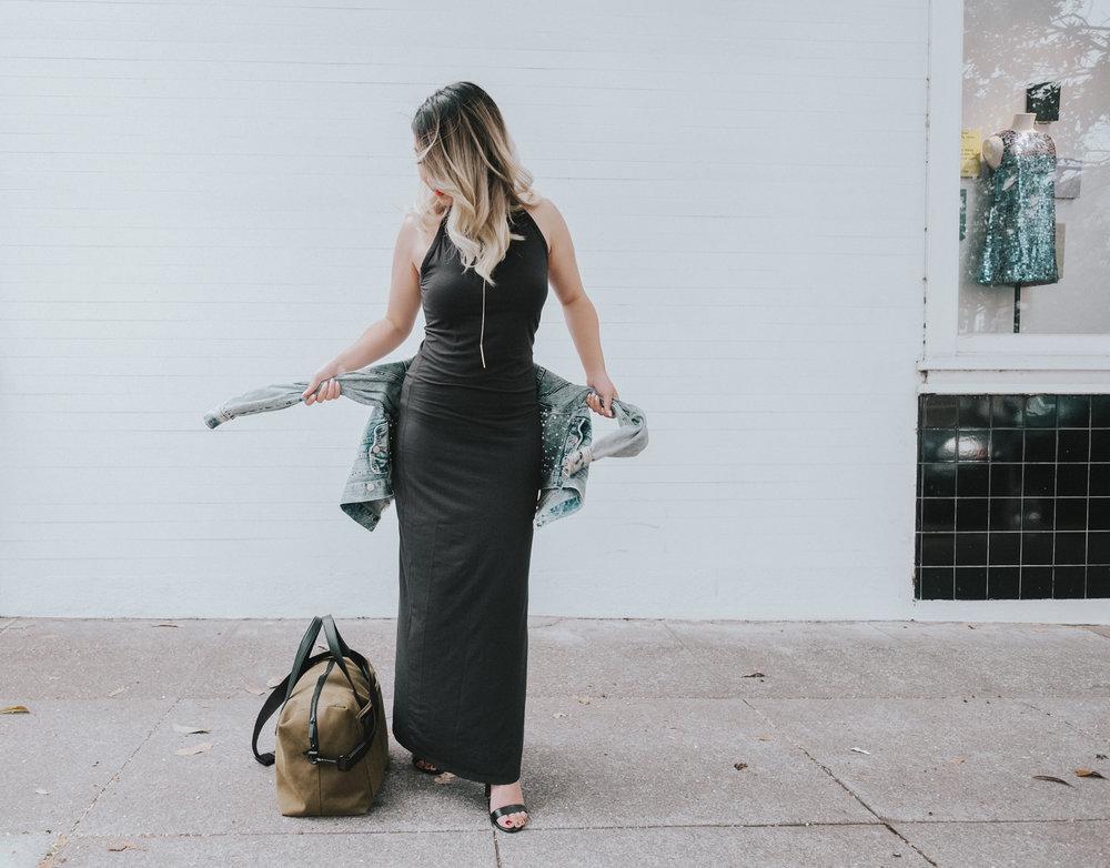 Grana Maxi Dress | The Chic Diary