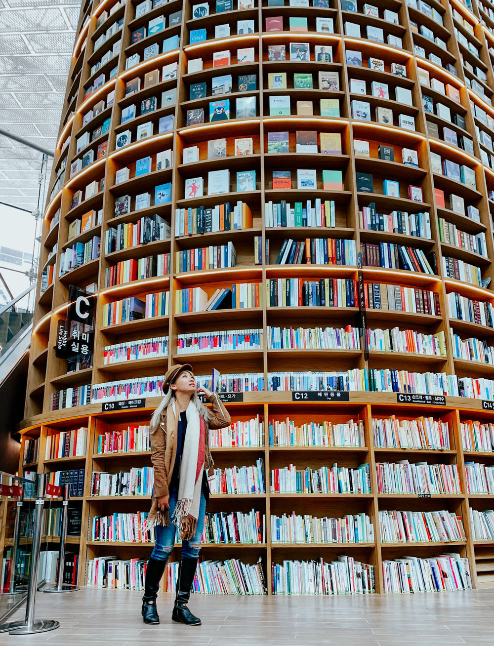 Coex Mall Starfield Library | Seoul, Korea Travel Guide | The Chic Diary