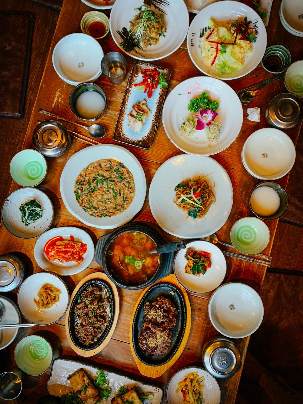 Korean Restaurant | Seoul, Korea Travel Guide | The Chic Diary