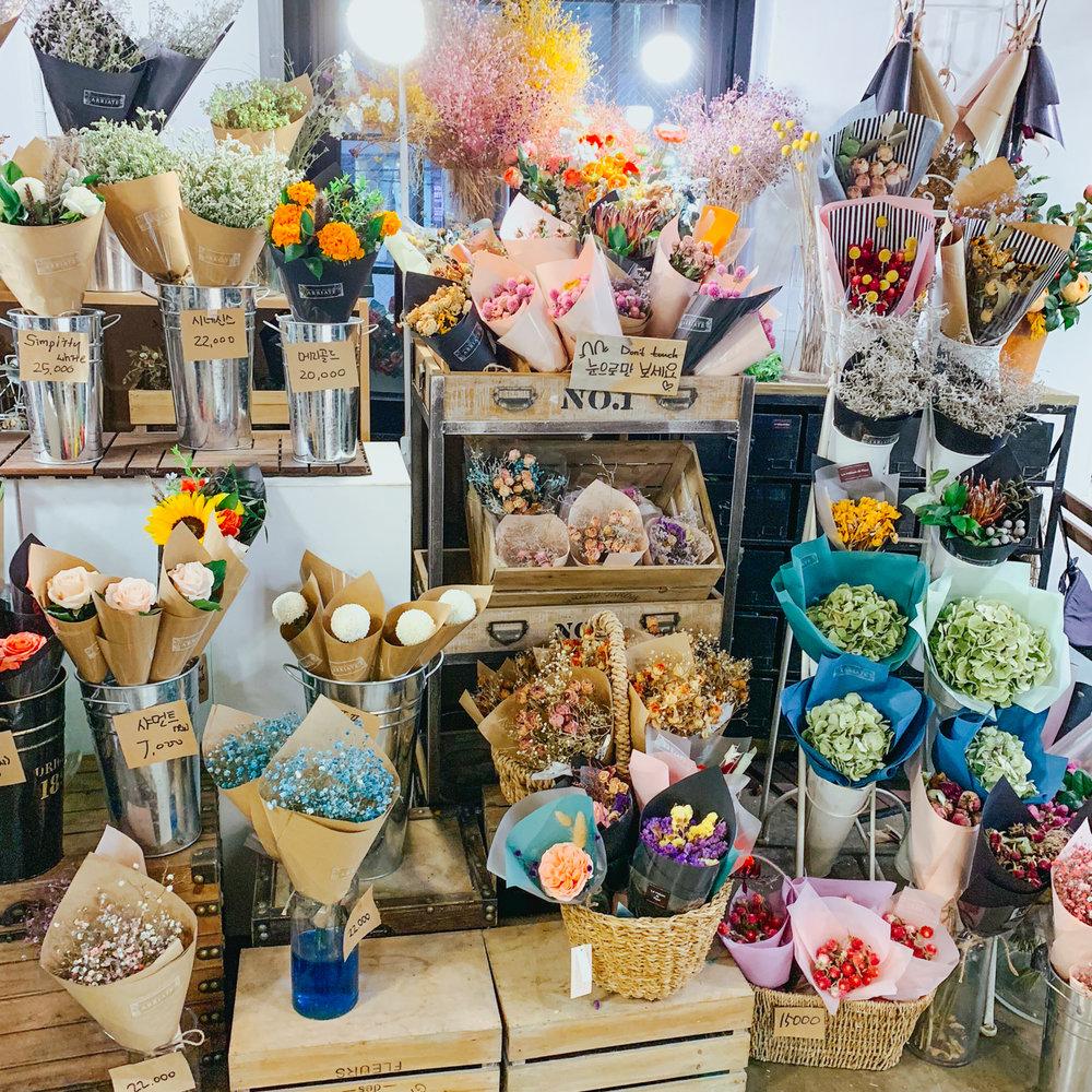Hongdae Flower Cafe | Seoul, Korea Travel Guide | The Chic Diary