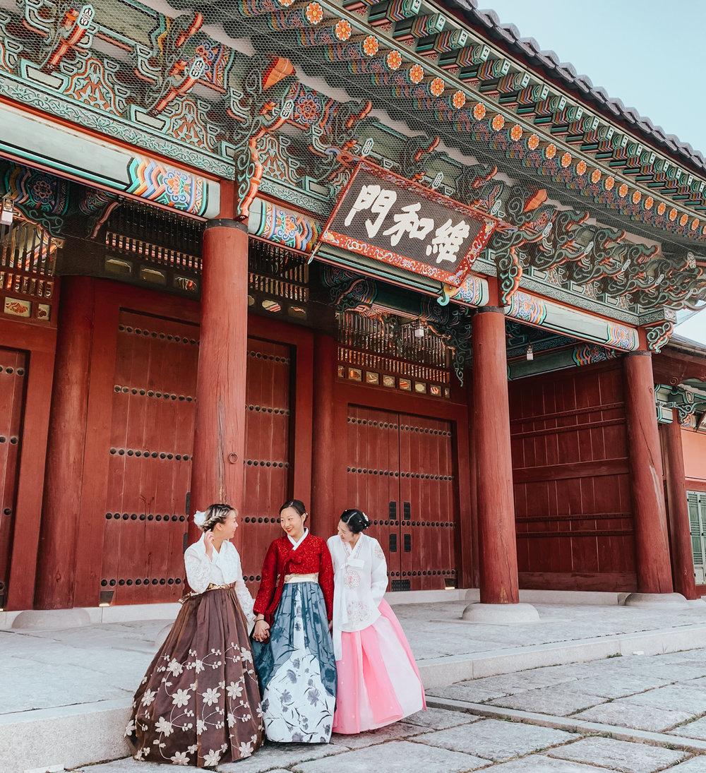 Hanbok Rental near Gyeongbokgung | Seoul, Korea Travel Guide | The Chic Diary