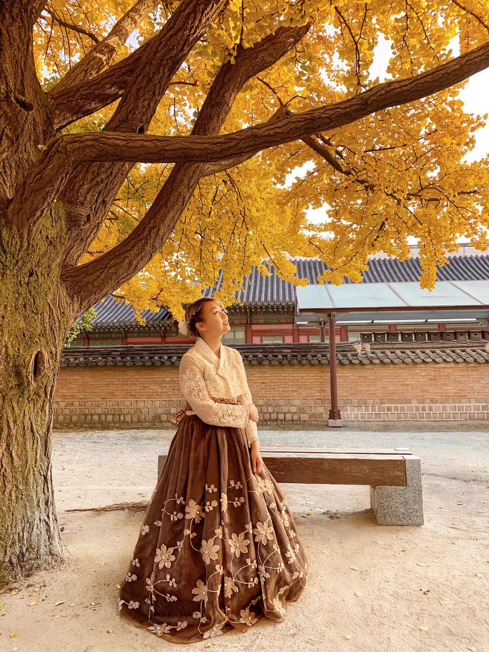 Fall in Gyeongbokgung | Seoul, Korea Travel Guide | The Chic Diary
