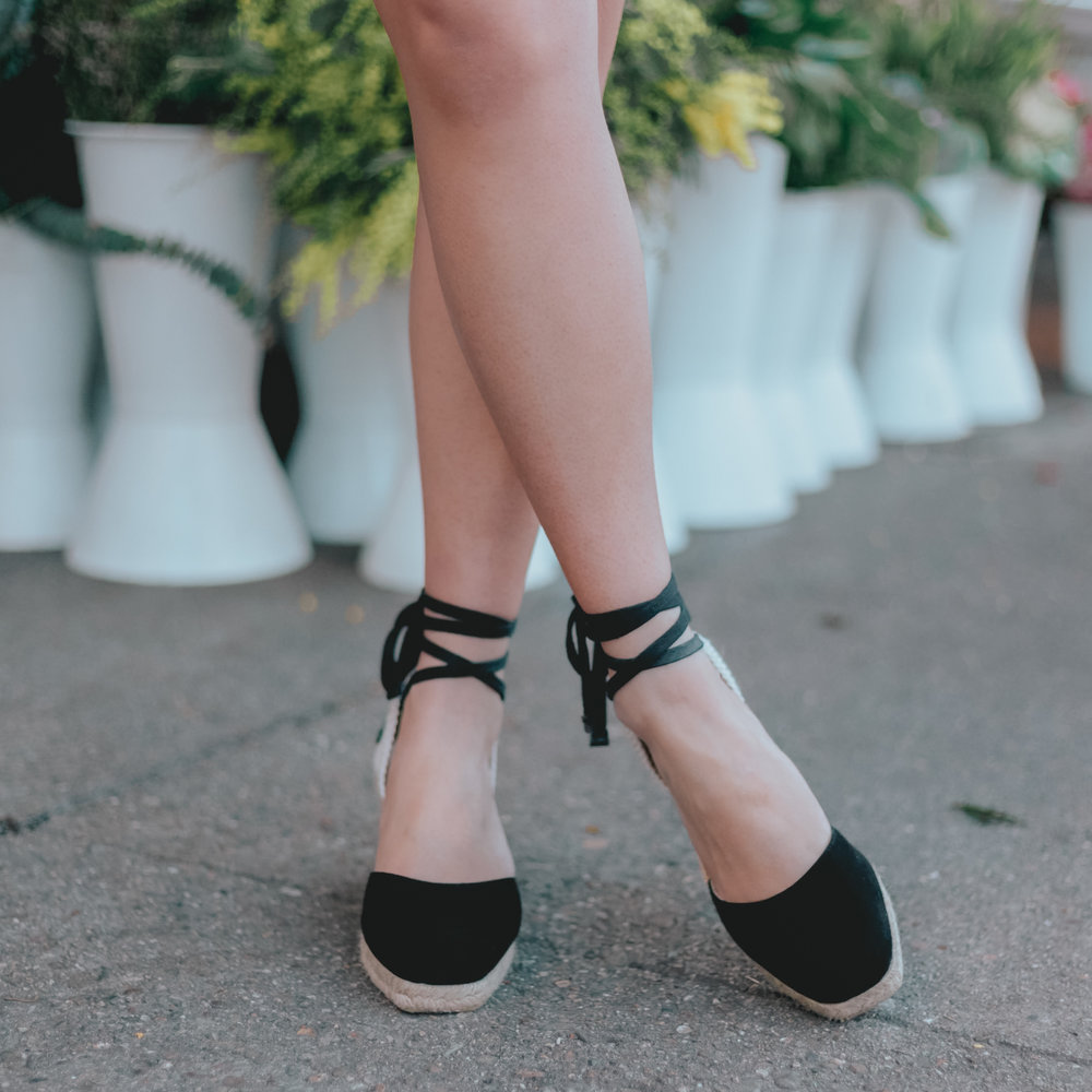 Reformation     •  Romy Wedge Espadrille    Cost:  $110 (on sale)  Times Worn as of 2/2019:  2     Cost/Times Worn:  $55  Cost/30 Wears:  $3.67