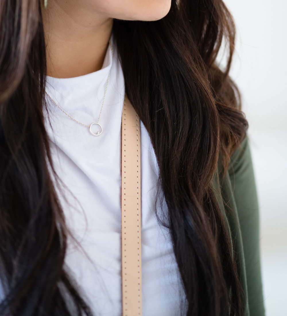 Brilliant Earth unity necklace | The Chic Diary