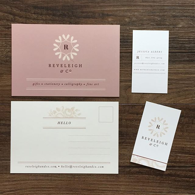 Are you following me over at @reveleighandco ?  #calligraphy #stationery #invitations #gifts #design #reveleighandco