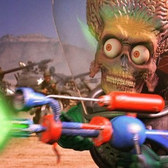MarZ AttaX! Dig into this cult classic now on sawyermagazine.com to find out why it's a true fashion film. 💫☄️ #sawyermagazine #marsattacks #film #timburton #cultclassic