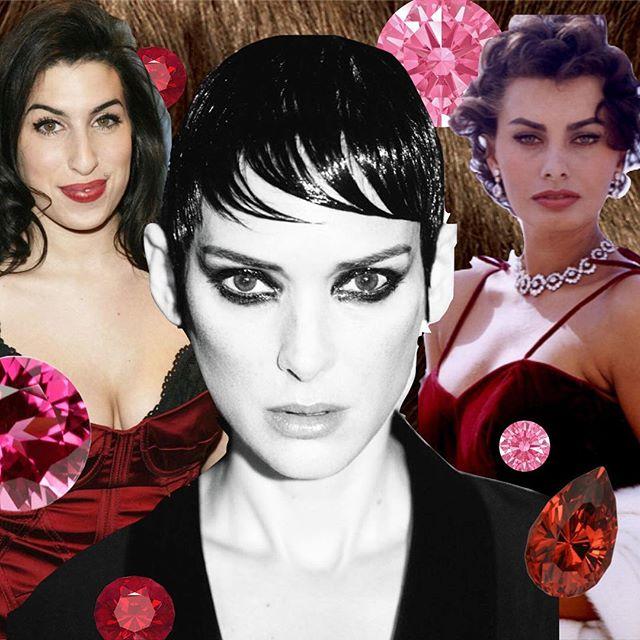 all my icons are brunettes 🍓💋 sawyermagazine.com for style/life inspo! #sawyermagazine #brunette #winonaryder