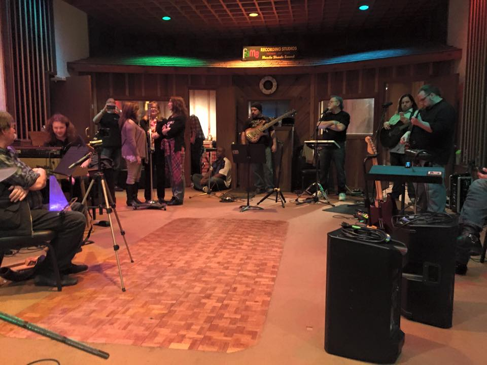 Blue Journey – FAME Studios, Muscle Shoals, AL – 3/28/15