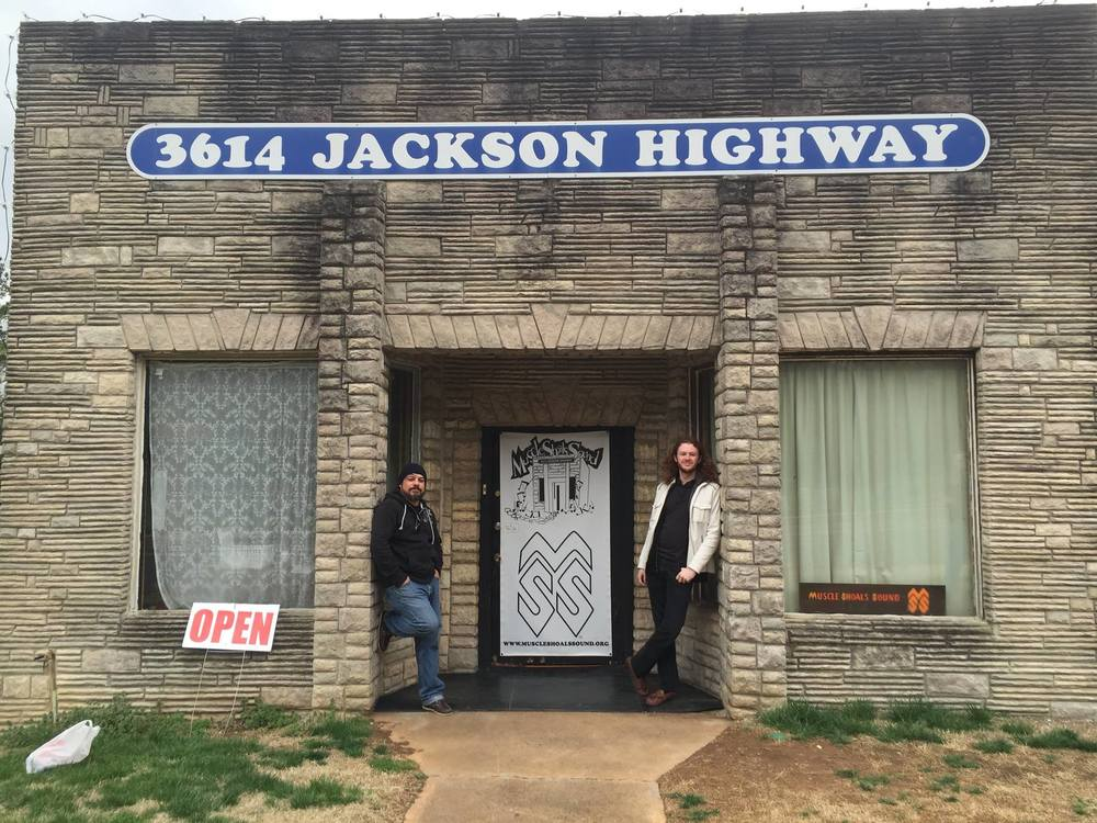 Blue Journey – Muscle Shoals Sound Studios, Muscle Shoals, AL – 3/28/15