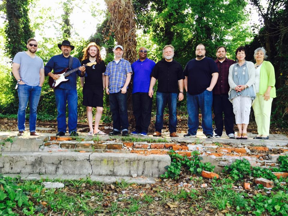 Dockery Plantation –4/26/15  (L-R) Ian Withrow, Keith Stone, Isaac Nesbit, Michael Chandler, Byron Bishop, James Nesbit, Jonathan Fitt, Jamie Fitt, Betty Love, Nita Maselle