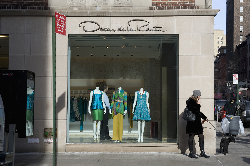 Oscar De La Renta in New York