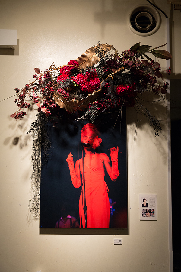 New York Before Zeros vol.2  Photo Exhibition @ Nos Ebisu  1/27-2/27/2015  Erykah Badu Photo w/ Mami Yamamoto Flower Decoration