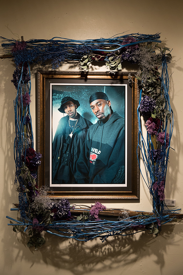 New York Before Zeros vol.2  Photo Exhibition @ Nos Ebisu  1/27-2/27/2015  Rza & Gza Photo w/ Mami Yamamoto Flower Decoration