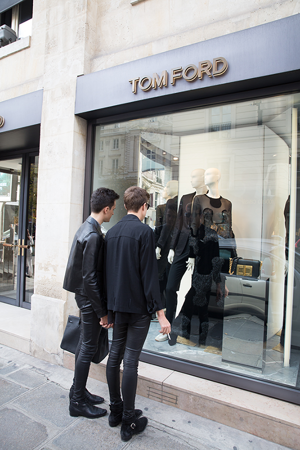 Tom Ford in Paris